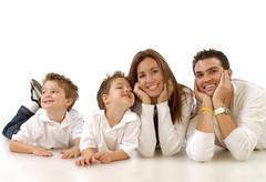 Family relaxing (shahrokhjedian) Tags: life family portrait people woman playing man love parenthood boys goofy childhood smiling kids modern standing laughing children mom happy parents togetherness healthy dad father young mother relaxing lifestyle happiness excited clean together trendy attractive casual caring cheerful playful fit 30s parenting sons 20s lyingdown upbeat fullbody energetic isolatedonwhite