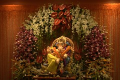 Ganesh Idol (acharekar) Tags: festival ganesh mumbai chaturthi ganpati kandivali amey ganeshotsav