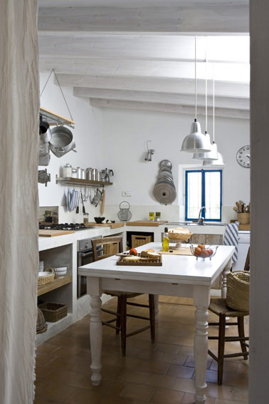 Decoracion Rustica Para Casas De Playa ~ La esencia r?stica de casa de campo y el aroma mediterr?neo que
