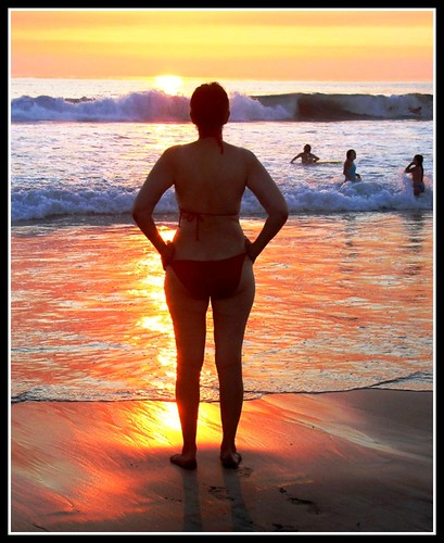 Bikini time at Sunset, California Heaven