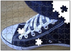 Game (haringciprian) Tags: test game art foto experiment zapatos puzzle joc adidasi