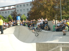 Eröffnung Skateranlage in Halle-Neustadt