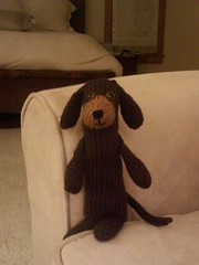 Knit Wiener Dog
