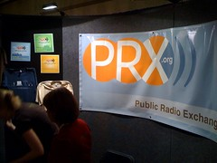 PRX booth