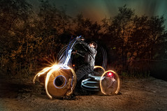 What moves you - Day 18/365 - Strobist.com Challenge (Von Wong) Tags: harley harleydavidson lightgraffiti vonwong sbc2assign4 lightmotorcycle