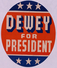 Dewey Campaign sticker