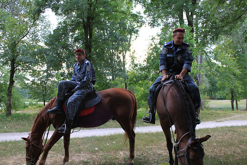 Mounted Police in the Park