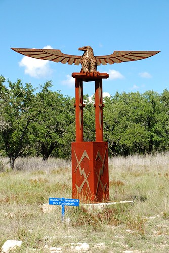 Sculpture Garden Thunderbird Monument