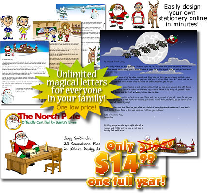 printable christmas letters from santa
