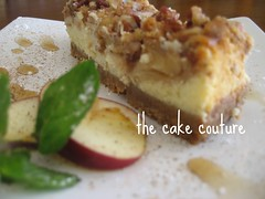 5. Apple Cheesecake (The Cake Couture (is currently not taking any orde) Tags: apple cheesecake  doha qatar              applecheesecake            thecakecouture