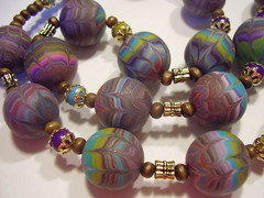 P5240003 (fimolandija) Tags: cane photo necklace beads colorful gallery modeling unique craft jewelry fimo bracelet earrings pendant millefiori hand polymer clay made