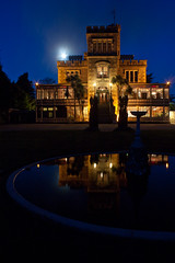 Larnach Castle By Moonlight