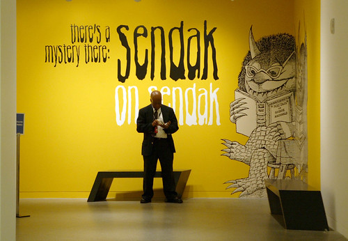 Sendak on Sendak (Photo by Ray Chavez, Contra Costa Times)