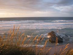 Galicia - July 2008 (Luca Geminiani) Tags: sunset sea beach spain waves galicia thisphotorocks