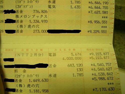 20091013 購買東方同人本的明細 (by yukiruyu)