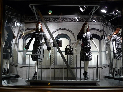Vitrines Dior - octobre 2009