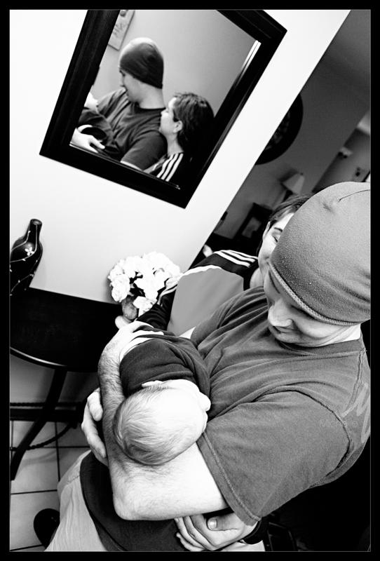 Rosenbaum family 8 bw blog