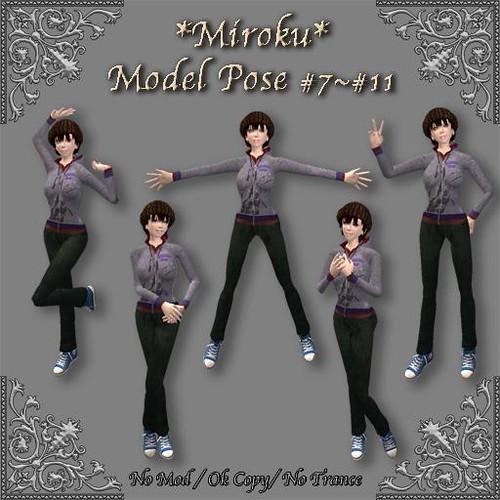 *Miroku*Model pose #7~#11