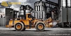 CATERPILLAR 992G (bauforum24) Tags: metal wall photoshop work photo construction iron calendar steel equipment caterpillar vehicles calender vehicle 24 kalender heavy retouching compositing 2010 retouche radlader baumaschinen 992 baumaschine bauforum baumaschinenkalender