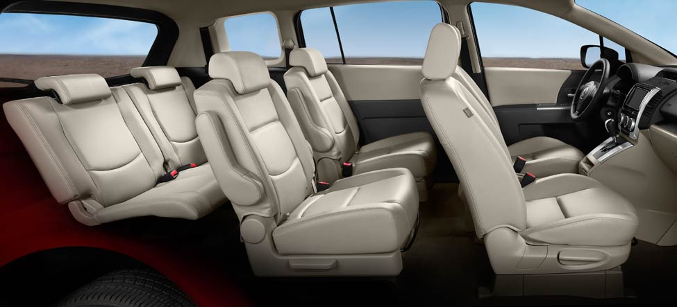 Mazda 5 Second-row seats