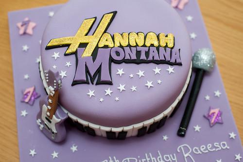Phenomenal Hannah Montana Cake Logo A Photo On Flickriver Birthday Cards Printable Inklcafe Filternl