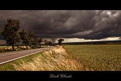 Dark Clouds (EtE-ART) Tags: road new summer clouds contrast germany dark landscape deutschland photography outdoor sommer himmel wolken dslr landschaft neu sachsenanhalt canoneos50d sigma1850mmf2845dcoshsm eteart