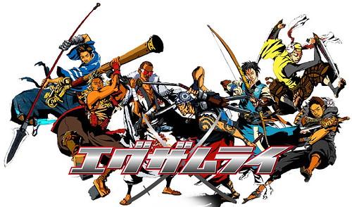 090107 - 以日本R&B團體「EXILE 放浪兄弟」為劇中主角群的TVA『エグザムライ戦国』將從10日隆重首播