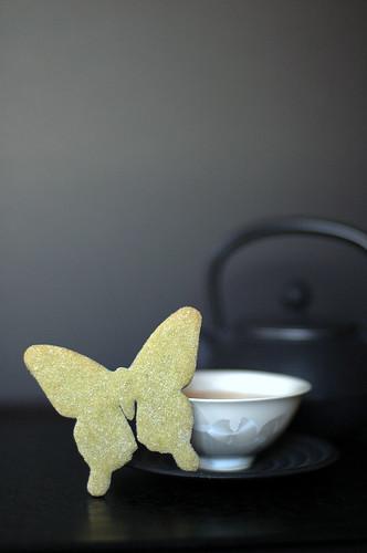 Sablés au thé vert  ~ 抹茶餅乾