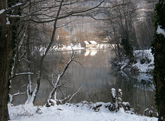 Kolpa (natalija2006) Tags: winter river slovenia reflexions zima natalija dol reka kolpa blueribbonwinner otw golddragon platinumphoto anawesomeshot diamondclassphotographer goldstaraward npisec