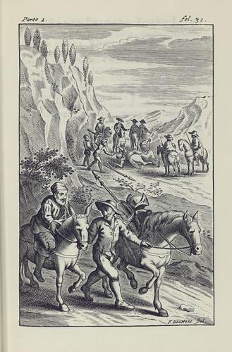 031-Vida y hechos del ingenioso cavallero Don Quixote de la Mancha- Círculo del Bibliófilo editada en 1975-Verdussen 1672