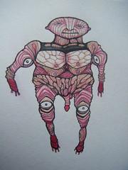 (macro_c) Tags: ojos ilustracion rapidograph vejez tejido musculos genitales lapizcolor peqeoformanto