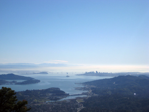 View from Mt.Tam peak