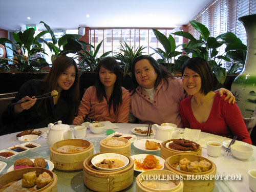 me and jessie and doreen at dim sum
