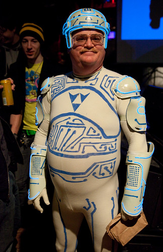The Tron Guy (Jay Maynard) by Laughing Squid