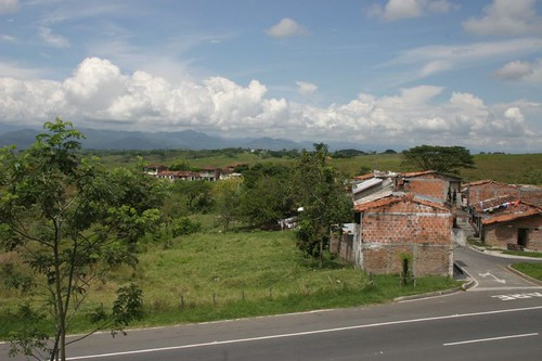 Colombian countryside...