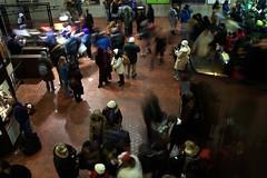 Metro Crowd 4 (melannen) Tags: subway dc washington metro inauguration09