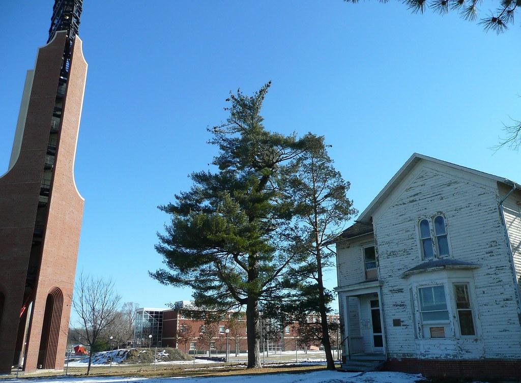 Urbana, IL Mumford House with Carillon