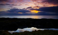 Portencross 2 (Xtwo4) Tags: sea sky clouds scotland seaside pentax super shore gloaming ayrshire portencross bej k100d