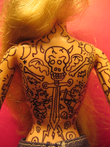 Tattooed Barbie Rocks the Web - Glock Talk