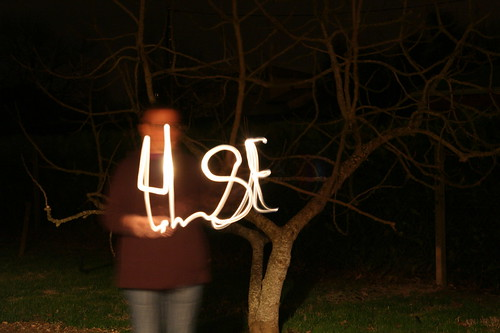 HSE en light painting