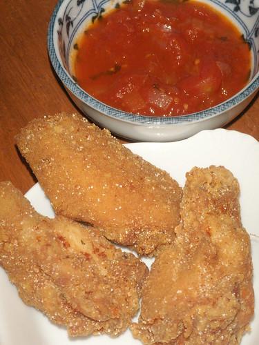 parmesan wings
