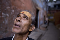 Udai-of-Varanasi (photosadhu) Tags: portrait india michael fortuneteller mystic visionary holyman varaanasi matlach photosadhu