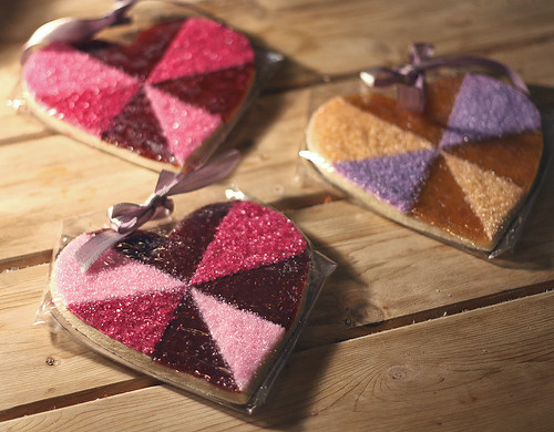 Valentine's Heart Cookies by The Jewels of New York