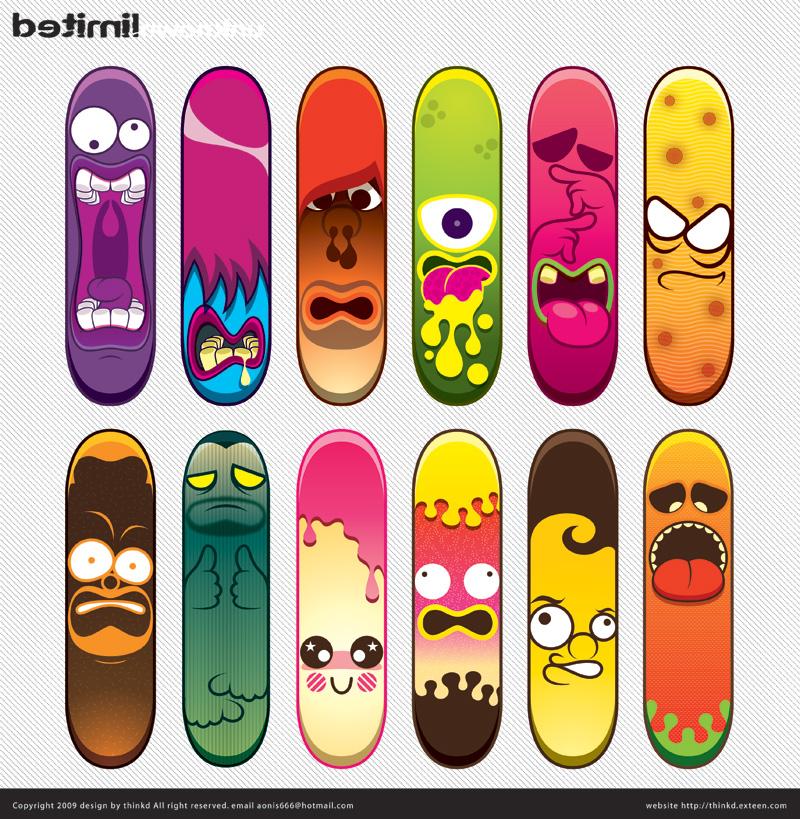 Skateboard limited