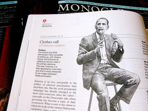 Typography of Monocle