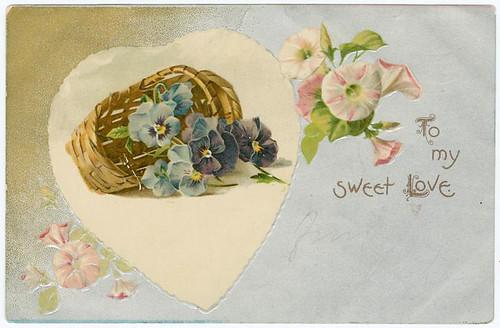 019- Para mi dulce amor 1900