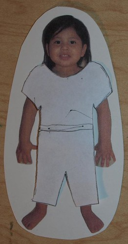blank paper doll. Blank paper doll template Log