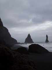 isz (smadventure) Tags: ocean mountain mountains blacksand iceland waves falls atlantic vik glacier waterfalls volcanic atlanticocean blacksandbeach