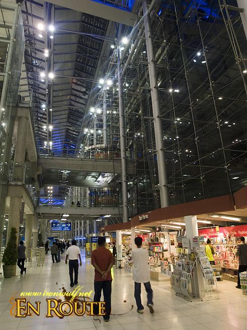 Thailand Bangkok's Suvarnabhumi Airport