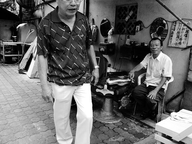 Street Barber @ KL Malaysia